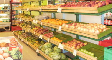 Fruits And Vegetable Racks 2 In Prakasam