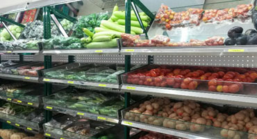 Fruits And Vegetable Racks In Prakasam