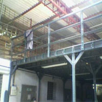Mezzanine Floor With Slotted Angle In Guntur
